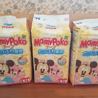 Mamy Poko Disney Mickey Mouse Tape Diapers