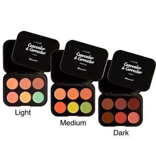BH Cosmetics 6color Concealer Palette