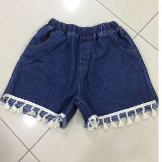 Denim shorts for girls ($5 each and $8 for 2)