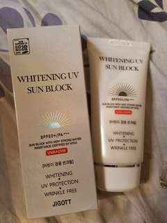 Whitening uv sun block 美白防曬(包平郵)