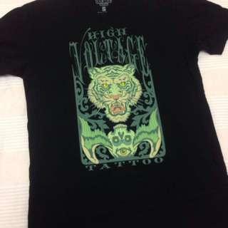 🚚 美國洛杉磯High Voltage Tattoo刺青印花TEE/短袖T恤/t-shirt