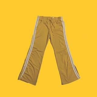 Yellow Track Pants
