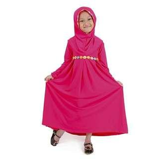 Gamis Anak - pink