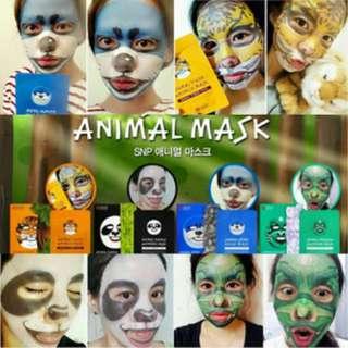ANIMAL MASK / PER SACHET ORIGINAL KOREA
