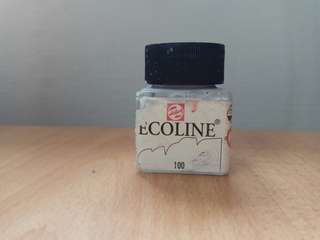 Talens Ecoline White watercolour ink