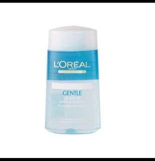 Loreal eye and lips make up remover 125ml brand new