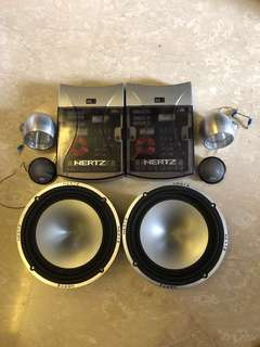 Hertz MLK 165 Component Speakers - Made in Italy