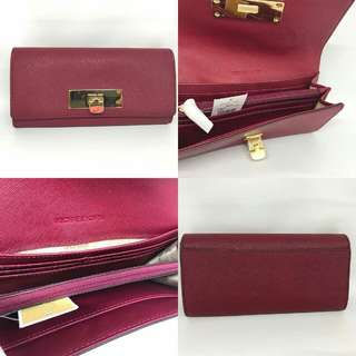 Michael Kors Callie Wallet Cherry