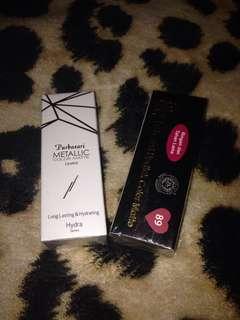 Purbasari Lipstick & Metallic Color Matte