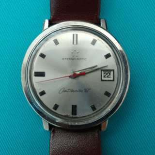 Vintage Eterna Matic Centenaire 61 Automatics Watches 古董手錶