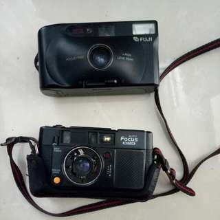 Kamera Lawas Yashica & Fuji