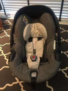 MARKED-DOWN price to clear. Stokke izi Besafe Car Seat.