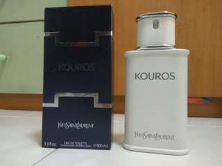 Kouros YSL Men Cologne Perfume Greek Fougere (Eau De Toilette 100ml) AUTHENTIC