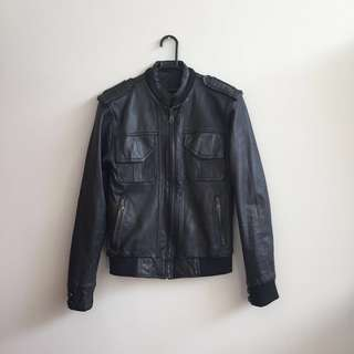 GENUINE Leather Jacket / Jaket Kulit Modern Fit