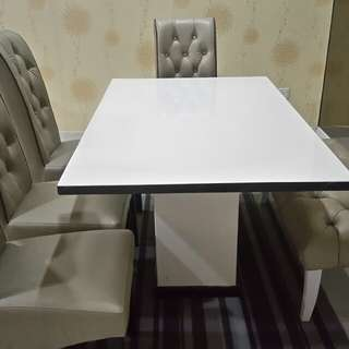Dining marble Table 6 seater