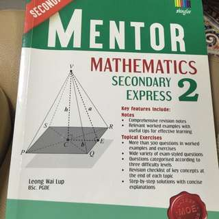 Mentor mathematics Sec 2