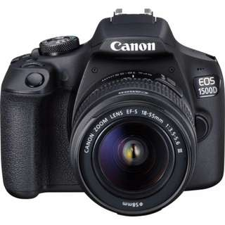 Canon 1500d Kit 18-55mm