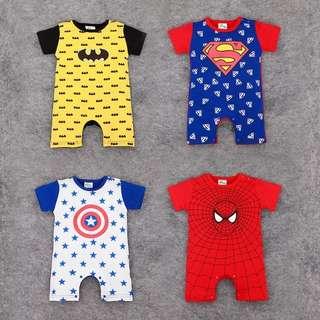 (Preorder) Superhero Baby romper