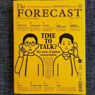 The FORECAST; issue 05, 2017.