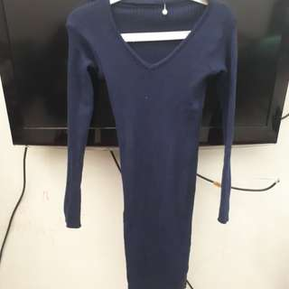 Sweater dress polos