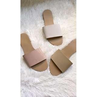 Flats sandals plain c1011