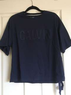 Calvin Klein crop Tshirt size Small