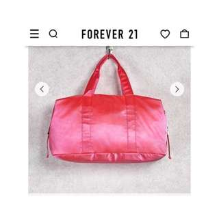 Forever21 Satin Duffle Bag