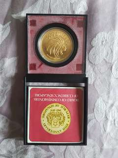 $500 One Ounce Fine Gold Coin