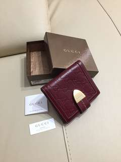 Authentic Classic GUCCI Purse / Wallet