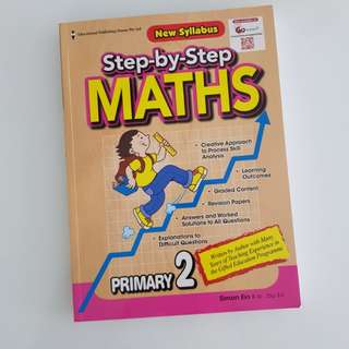 Step by step maths for primary 2