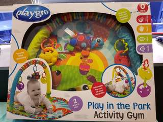 Playgro Activity Gym - play in the park