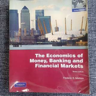The Economics of Money, Banking and Financial Markets; Frederic S. Mishkin. Ninth Edition, 2010.