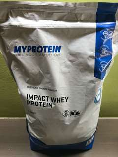 Brand New My Protein Impact Whey Protein Chocolate Smooth Flavour 2.5 KG