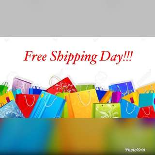 Free Shipping Day!!!