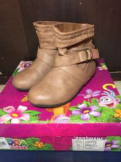 Dora Shoes, Mocha, Size 10, For Kids