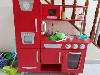 Toy Kitchen kidkraft vintage kitchen