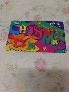 1995聖誕車票