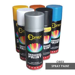 OREX Spray Paint / box- 12 bottles