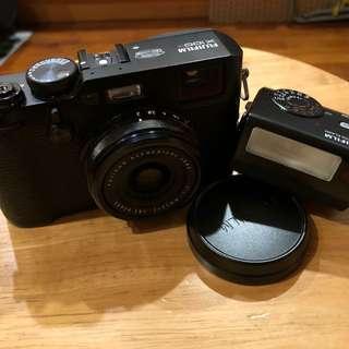 Fujifilm X100F 黑色全套