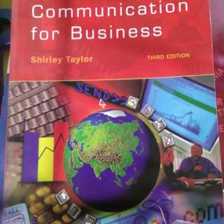 Communication for Business 3rd Edition Shirley Taylor