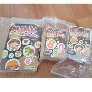 Shichida training materials MIMO Set E