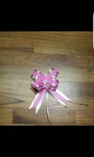 Ready made ribbon. 1 pc 0.20cent. 1 pack of 10 $1.5