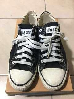 🚚 Converse all star經典帆布鞋 滑板鞋 不朽穿搭款黑白配色 街頭潮流極致 old school