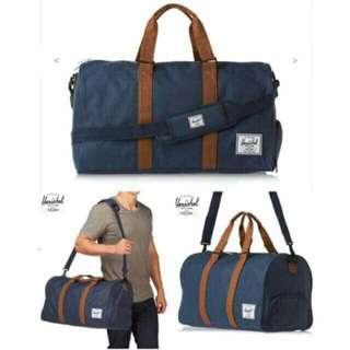 Authentic Herschel traveling bag with shoes compartment