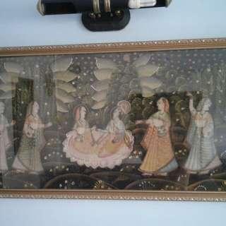 Indian art frame