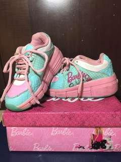 Barbie Roller Shoes, Size 12, For Kids