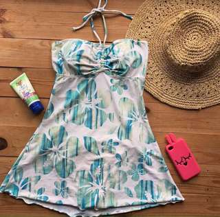 BIKINI SWIM DRESS (baju renang dress wanita)