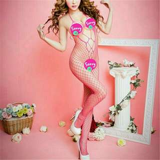 Very Sexy Fish-net Style Bodysuit Lingerie