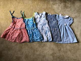 Assorted Baby Girl Dresses