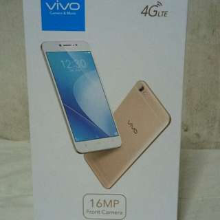 Selling with the best price of Vivo V5Lite Rose Gold Perfect Selfie